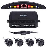 Парктроник Pulso LP-10140/LED/4 датчика D=22mm/коннектор/black (LP-10140-black)