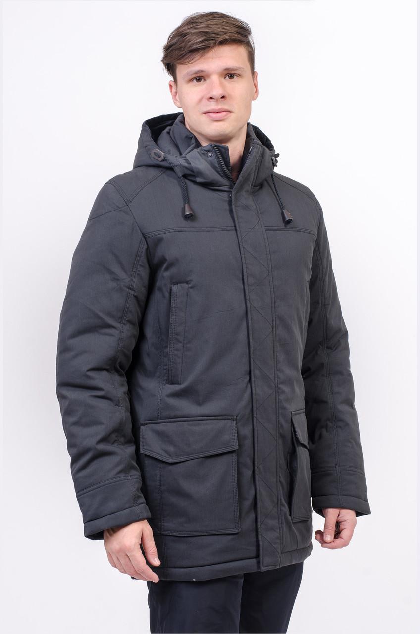 Куртка чоловіча зимова синя Avecs AV-973С Розміри 46/S 52/XL 54/2XL