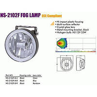 Додаткові фари NS-2102 F-B-C H3/12/55W/D=100mm (NS-2102 F-B-C)