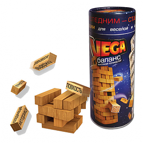 Игра настольная Башня Дженга Vega Jenga