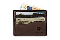 Кард-кейс Grande Pelle CardCase 305120 шоколад, фото 1