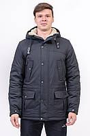 Куртка чоловіча зимова синя Avecs AV-960С Розміри 46/48 S/M 52/XL