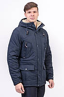 Куртка чоловіча зимова синя Avecs AV-960С Розміри 50/L 52/XL 56/3XL