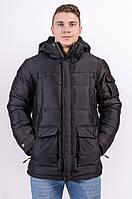 Куртка мужская зимняя черная Avecs AV-7342308 Размеры 50/L