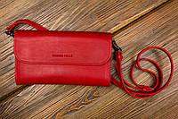 Клатч Practico, красный глянец, фото 1