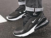 Мужские кроссовки Nike Air Max 270 Black White AH8050-002, фото 2