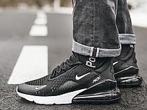 Мужские кроссовки Nike Air Max 270 Black White AH8050-002, фото 3