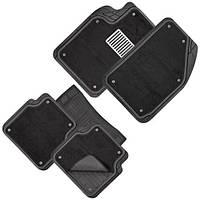 Коврики PVC съемный войлок КУ-16044 BK 5шт./компл. черные 74x50 47x50 23x50 м/п (КУ-16044 BK)