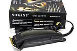 Мережева Машинка для Стрижки Волосся для Будинку Sokany RCM-811 15 ВТ, фото 8