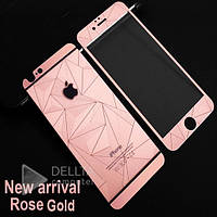 Защитное стекло для Iphone 6 / 6s Diamond Rose 2 in 1 стекло защитное для телефона, защитное стекло