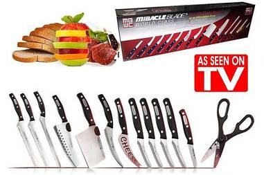 "Набор кухонных ножей ""Чудо-ножи"" Mibacle Blade World Class"