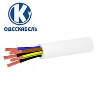 Кабель медный гибкий ПВС 5х6   ПВСм 4*6+1*6 ОдесКабель   провод силовой соединительный   шнур