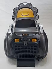 Пылесос колбовый (контейнерный) с турбощеткой Domotec MS 4408 220V/3600W, фото 3