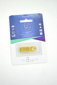 Флеш-накопитель Usb 8Gb T&G 117 Metal series Gold