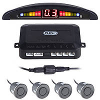 Парктроник Pulso LP-10140/LED/4 датчика D=22mm/коннектор/grey (LP-10140-grey)