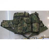 Тактический военная сумка для охоты Собр размер 23х19см, текстиль, сумка военная