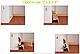Плинтус пластиковый ТЕКО Стандарт 0001 Орех светлый (с кабель каналом, широкий по полу, мягкие края), фото 2