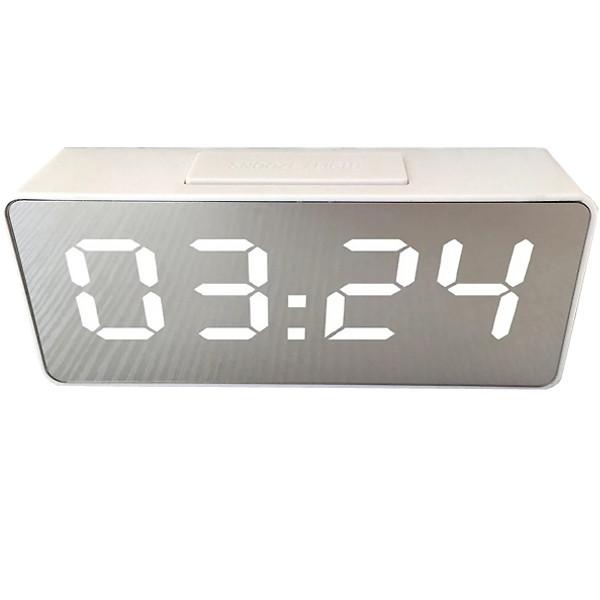 Настольные часы VST VST-886Y-3 Led Белые (20053100198)