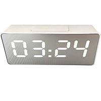 Настольные часы VST VST-886Y-3 Led Белые (20053100198), фото 1