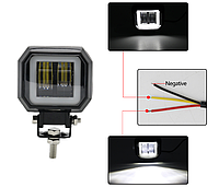 LED фара дополнительного света 20W 1800 Лм+ходовой огонь