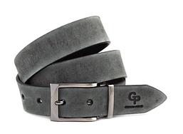 Кожаный ремень Affari, серый мрамор