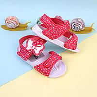 Детские сандалии на девочку, пляжная детская обувь тм Giolan размер 30,31,33,34,35