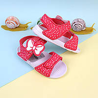 Дитячі сандалії на дівчинку, пляжна дитяче взуття тм Giolan розмір 30,31,33,34,35