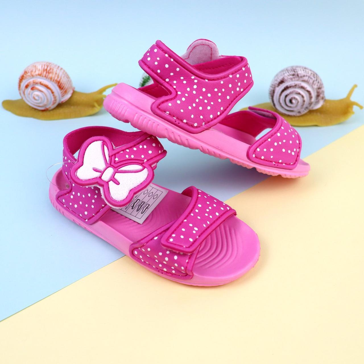 Дитячі сандалії для дівчинки,пляжні босоніжки тм Giolan розмір 30,31,33,34,35