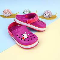 Детские кроксы с подсветкой пляжная летняя обувь тм GIOLAN р.20,25,31,32,35
