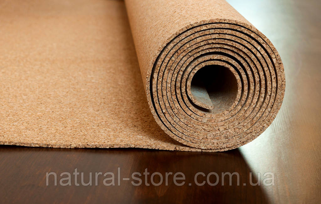 Пробковая подложка 6мм в рулоне (10х1м) TM Eco Bazalux