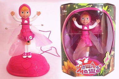 Летающая кукла Маша c базой