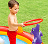 Детский надувной игровой центр бассейн с горкой Intex 57163 196х170х107 см Веселый Дино, фото 3