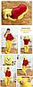 Пижама костюм кигуруми Винни Пух, фото 2