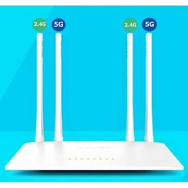 Wi-Fi Роутер двух каналах 2.4Ghz и 5Ghz LB-Link BL-W1210M