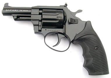 Револьвер под патрон флобера Safari РФ 431М с пластиковой рукояткой