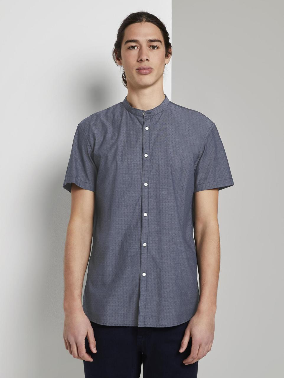 Рубашка Tom Tailor 1018588 M Серый
