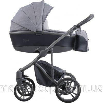 Дитяча універсальна коляска 2 в 1 Bebetto Bresso New 24 (графитная рама)
