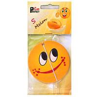 """Освежитель воздуха Car Protect """"Smile"""" Melon (780)"""