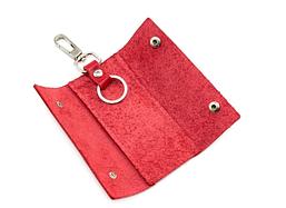 Ключница на кнопках, красный
