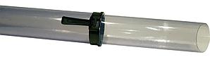 Трубка телескопічна прозора Ø 80/85 mm