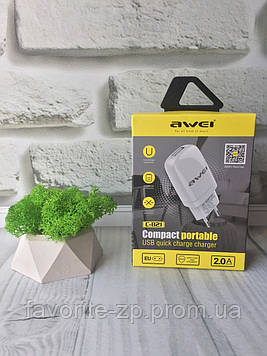 Зарядное устройство Awei C-821 Travel charger USB 2 A