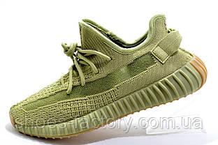Мужские кроссовки в стиле Adidas Yeezy Boost 350, Khaki\Green (Топ)