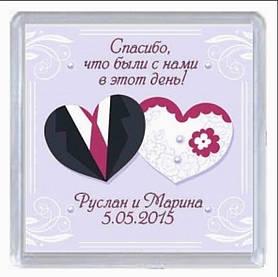 Весільний магнітик 1