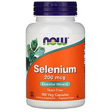 """Селен NOW Foods """"Selenium"""" 200 мкг (180 капсул)"""