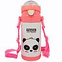 Термос - Поильник детский (MT-2088) (Розовая Панда), фото 4