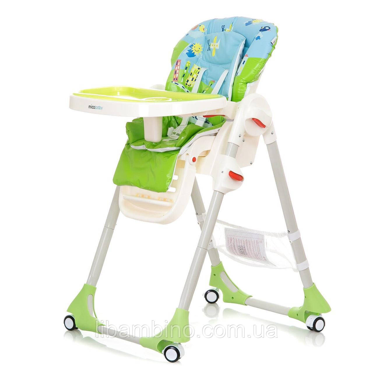 Дитячий універсальний стільчик для годування Mioobaby Rio  - Green