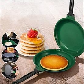 Двухсторонняя сковорода для приготовления блинов и панкейков Pancake Maker