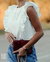 Блуза женская с воланами. Новинка 2020, фото 1