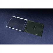 КОРОБКА НА 1 CD - SLIM - ЧЕРНЫЙ (36 ГР.)