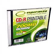 CD-R Esperanza PRINTABLE - ТОНКИЙ ЧЕХОЛ 1 ШТ.